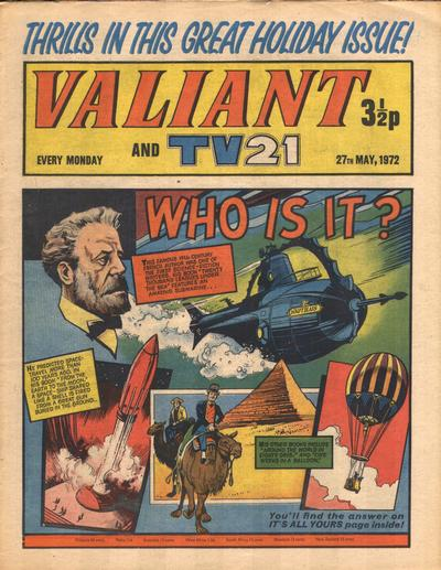 Cover for Valiant and TV21 (IPC, 1971 series) #27th May 1972