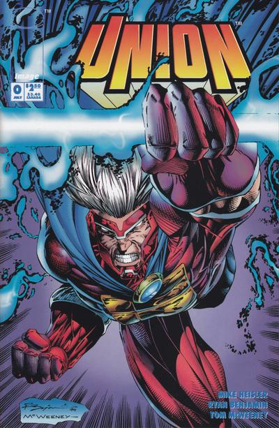 Cover for Union (Image, 1993 series) #0 [WildStorm 1994 Puzzle Cover]