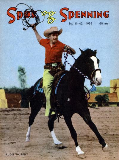 Cover for Spøk og Spenning (Oddvar Larsen; Odvar Lamer, 1950 series) #41-42/1953