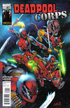 Cover for Deadpool Corps (Marvel, 2010 series) #1 [Space Cover]