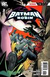 Cover for Batman and Robin (DC, 2009 series) #2 [Andy Kubert Variant Cover]