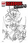 Cover for Deadpool Corps (Marvel, 2010 series) #1 [McGuinness Sketch Variant]