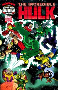 Cover Thumbnail for Incredible Hulk (Marvel, 2009 series) #603 [Super Hero Squad Variant Edition]