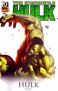 Cover Thumbnail for Incredible Hulk (Marvel, 2009 series) #605 [70 Years of Marvel Variant Edition]