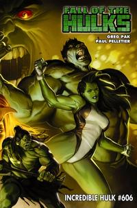 Cover for Incredible Hulk (Marvel, 2009 series) #606 [Second Printing]
