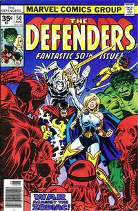 Cover Thumbnail for The Defenders (Marvel, 1972 series) #50 [35¢]