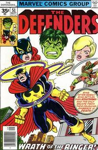 Cover Thumbnail for The Defenders (Marvel, 1972 series) #51 [35¢]