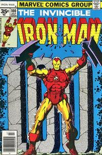 Cover Thumbnail for Iron Man (Marvel, 1968 series) #100 [35 cent cover price variant]