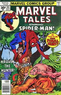 Cover Thumbnail for Marvel Tales (Marvel, 1966 series) #83 [35 cent cover price variant]