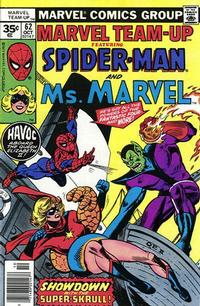 Cover Thumbnail for Marvel Team-Up (Marvel, 1972 series) #62 [35 cent cover price variant]