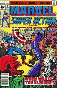Cover Thumbnail for Marvel Super Action (Marvel, 1977 series) #2 [35 cent cover price variant]