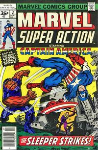Cover Thumbnail for Marvel Super Action (Marvel, 1977 series) #3 [35 cent cover price variant]