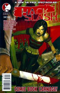 Cover Thumbnail for Hack/Slash: Comic Book Carnage (Devil's Due Publishing, 2005 series)