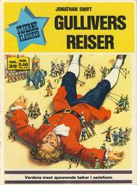 Cover Thumbnail for Stjerneklassiker (Illustrerte Klassikere / Williams Forlag, 1969 series) #39 - Gullivers reiser