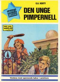 Cover Thumbnail for Stjerneklassiker (Illustrerte Klassikere / Williams Forlag, 1969 series) #43 - Den unge pimpernell