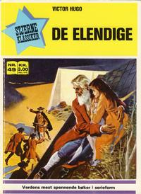 Cover Thumbnail for Stjerneklassiker (Illustrerte Klassikere / Williams Forlag, 1969 series) #49 - De elendige