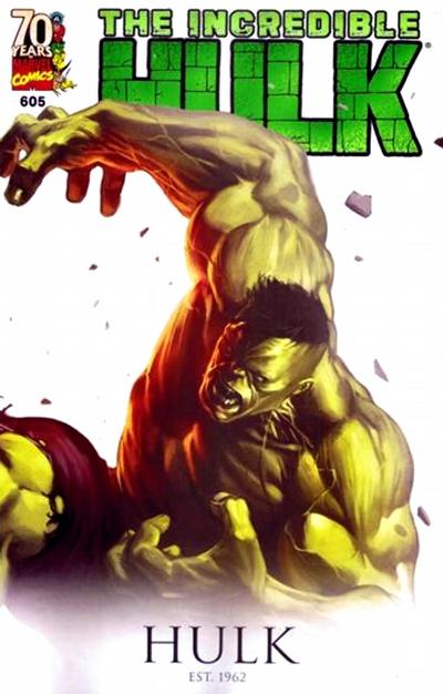 Cover for Incredible Hulk (Marvel, 2009 series) #605 [Direct Edition]