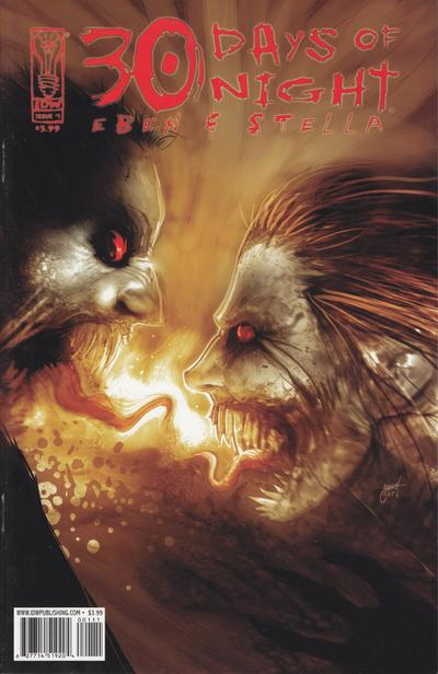 Cover for 30 Days of Night: Eben & Stella (IDW, 2007 series) #1
