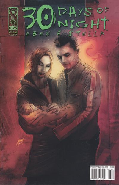 Cover for 30 Days of Night: Eben & Stella (IDW, 2007 series) #4