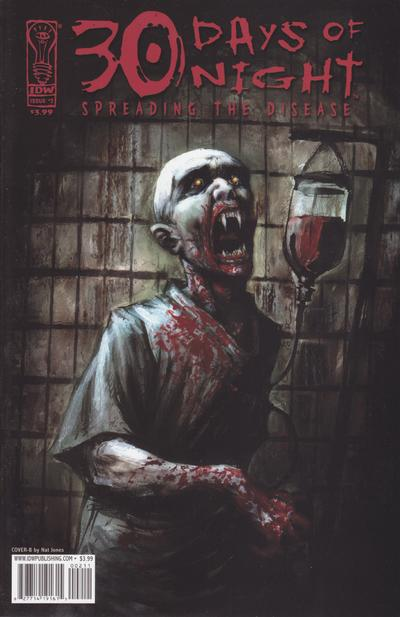 Cover for 30 Days of Night: Spreading the Disease (IDW, 2006 series) #2 [Cover A Alex Sanchez]