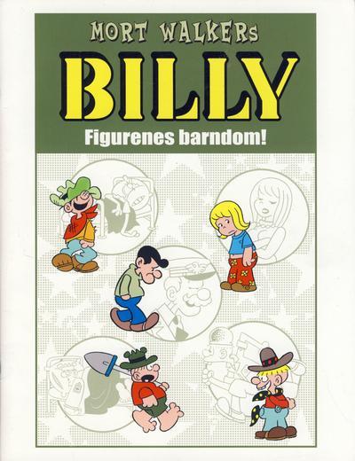 Cover for Billy Figurenes barndom! [Bilag til Billy bok] (Hjemmet / Egmont, 2008 series) #[nn]