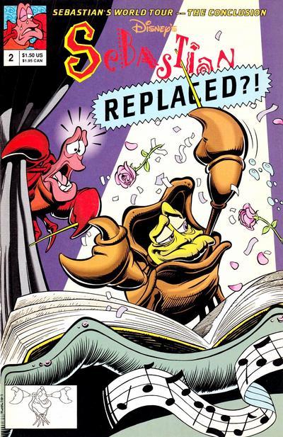 Cover for Walt Disney's Sebastian (Disney, 1992 series) #2