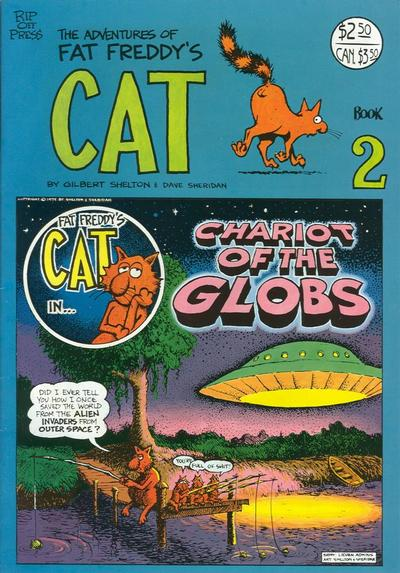 Cover for Fat Freddy's Cat (Rip Off Press, 1977 series) #2 [Revised]