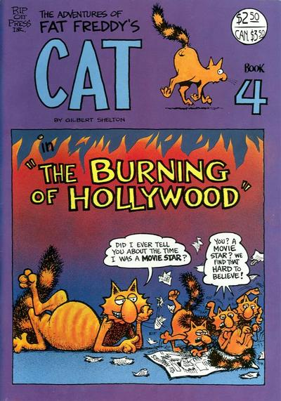 Cover for Fat Freddy's Cat (Rip Off Press, 1977 series) #4 [Revised]