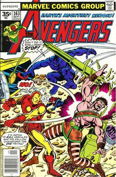 Cover for The Avengers (Marvel, 1963 series) #163 [35¢ Price Variant]
