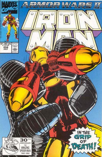 Cover for Iron Man (Marvel, 1968 series) #258 [JC Penney Boxed Set Variant]