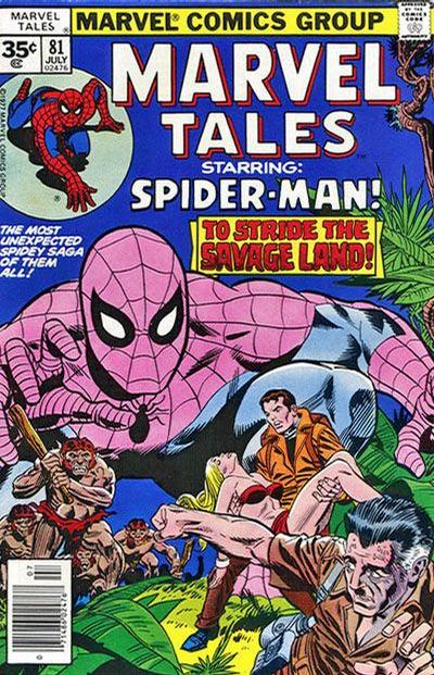 Cover for Marvel Tales (Marvel, 1966 series) #81 [30 cent cover price]