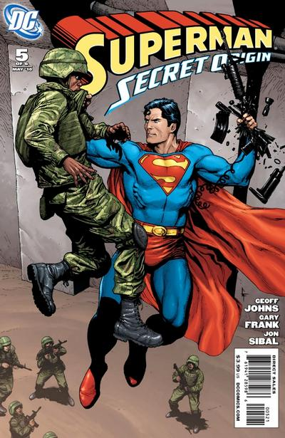 Cover for Superman: Secret Origin (DC, 2009 series) #5 [Gary Frank Villains Cover]