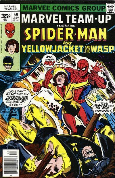 Cover for Marvel Team-Up (Marvel, 1972 series) #59 [35 cent cover price variant]