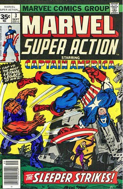 Cover for Marvel Super Action (Marvel, 1977 series) #3 [30 cent cover price]