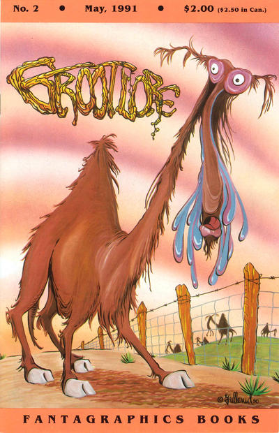 Cover for Grootlore (Fantagraphics, 1991 series) #2