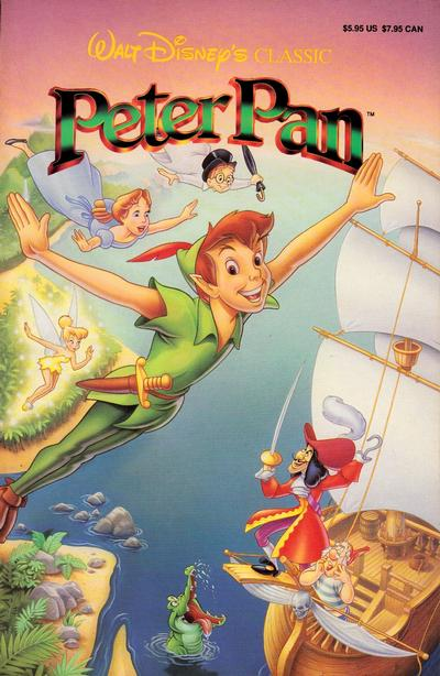 Cover for Walt Disney's Peter Pan (Disney, 1990 series)