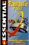 Cover Thumbnail for Essential Fantastic Four (1998 series) #1 [Second Edition, Kirby Painted Cover]
