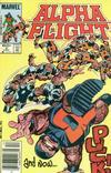 Cover for Alpha Flight (Marvel, 1983 series) #5 [Newsstand]