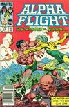 Cover Thumbnail for Alpha Flight (1983 series) #15 [Canadian Newsstand]