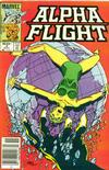 Cover for Alpha Flight (Marvel, 1983 series) #4 [Newsstand]