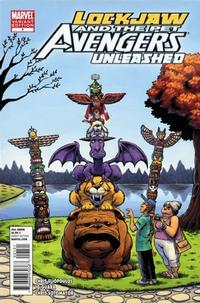 Cover for Lockjaw & the Pet Avengers Unleashed (Marvel, 2010 series) #1 [Variant Edition]