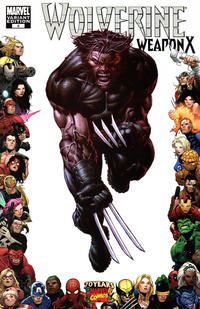 Cover Thumbnail for Wolverine Weapon X (Marvel, 2009 series) #4 [Marvel 70th Anniversary Border]