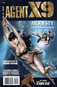 Cover Thumbnail for Agent X9 (Hjemmet / Egmont, 1998 series) #4/2010