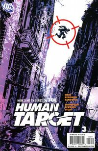 Cover Thumbnail for Human Target (DC, 2010 series) #3