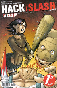 Cover Thumbnail for Hack/Slash: The Series (Devil's Due Publishing, 2007 series) #1 [Seeley Cover]