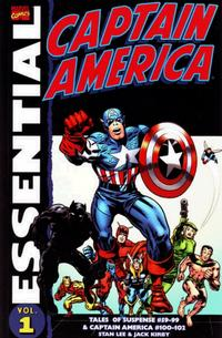 Cover Thumbnail for Essential Captain America (Marvel, 2000 series) #1 [Later printing(s)]