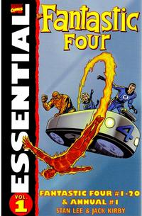 Cover for Essential Fantastic Four (Marvel, 1998 series) #1