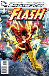 Cover Thumbnail for The Flash (DC, 2010 series) #1 [Francis Manapul Cover]
