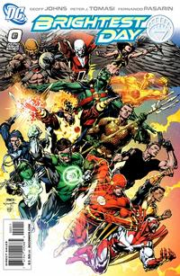 Cover Thumbnail for Brightest Day (DC, 2010 series) #0 [Standard Cover]