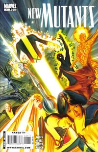 Cover Thumbnail for New Mutants (Marvel, 2009 series) #1 [Cover B - Alex Ross]
